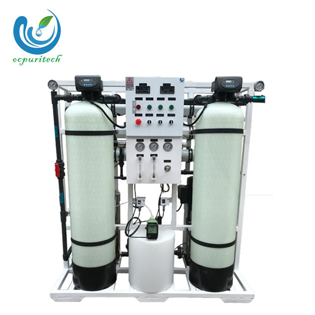 750 liter per hour reverse osmosis plant for water treatment