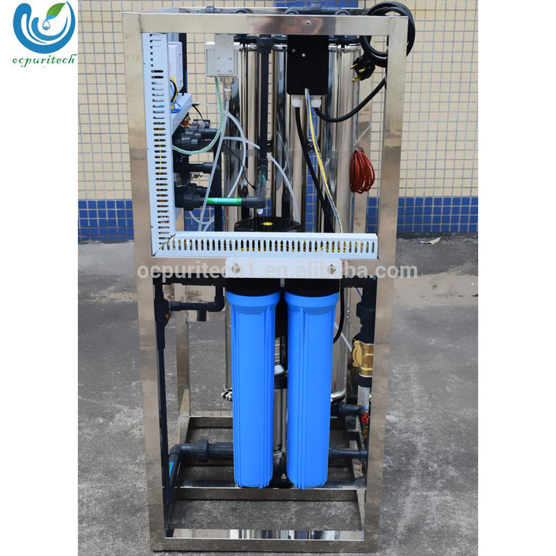 small 750LPH ro water purifier plant price