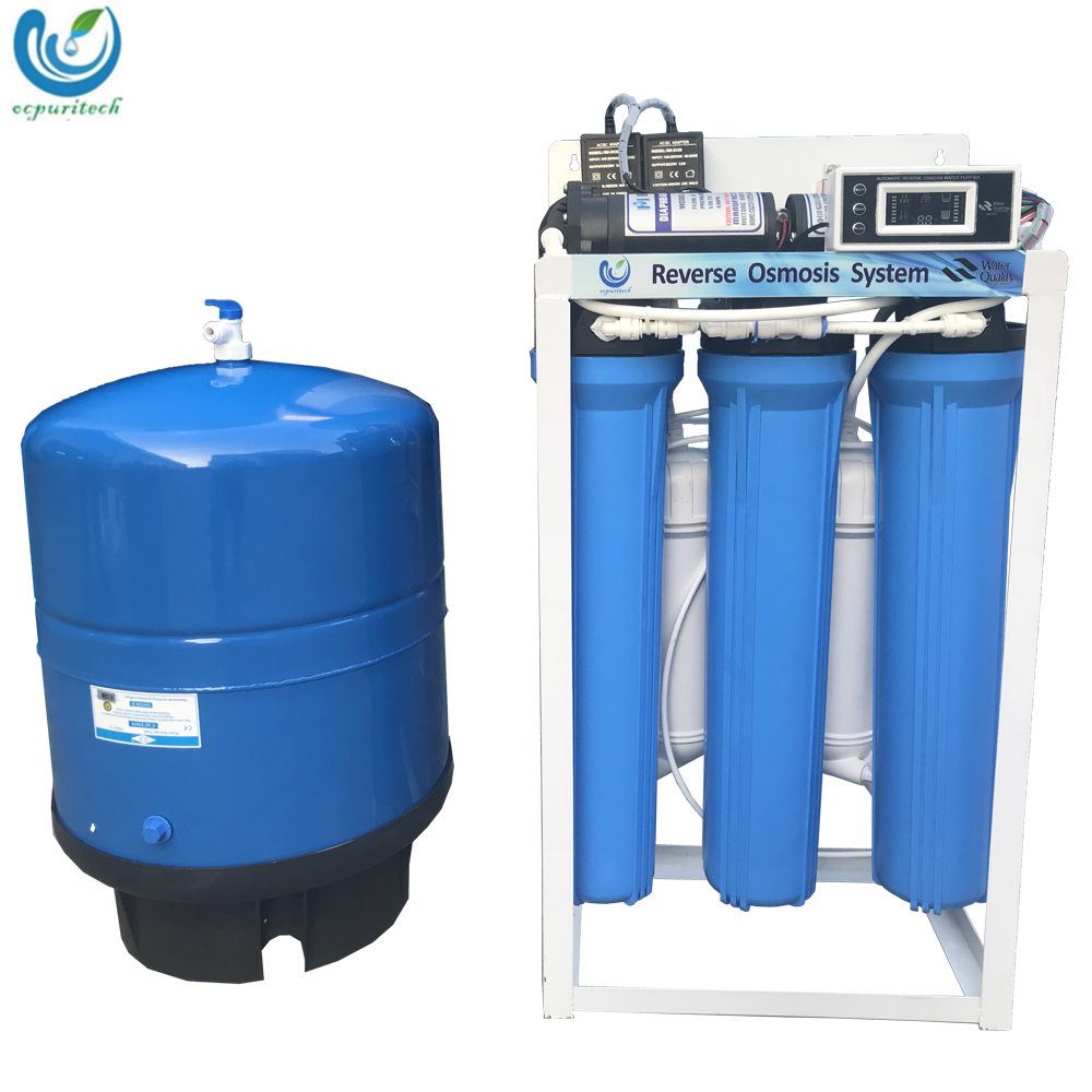 400GPD/600GPD RO purification system with pressure tank