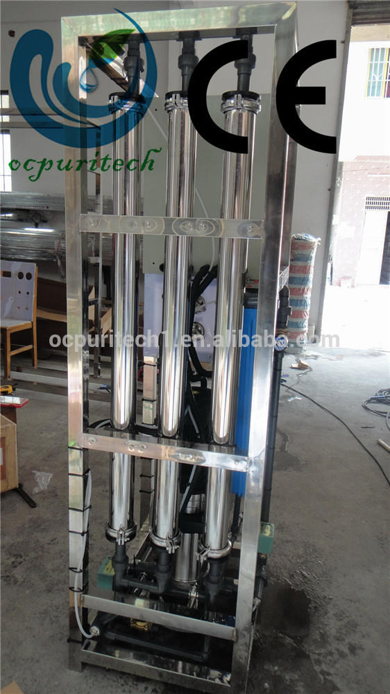 3000lph Mobile industrial RO system price for sale