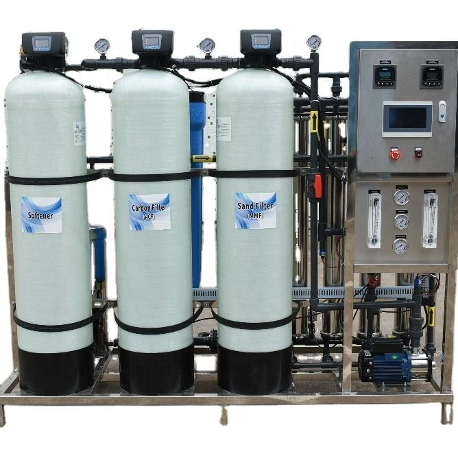 Factory 1000LPH Remote monitoring RO Reverse Osmosis Water Treatment Purification