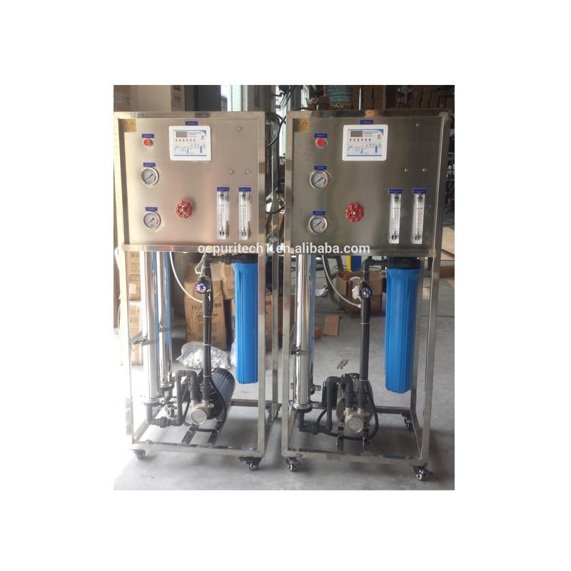 reverse osmosis RO water purification system deionized water plant water filtration plant