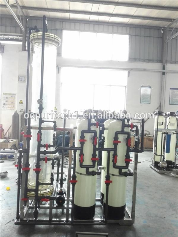 industrial 1000LPH Water deionizedmixed bed DI system