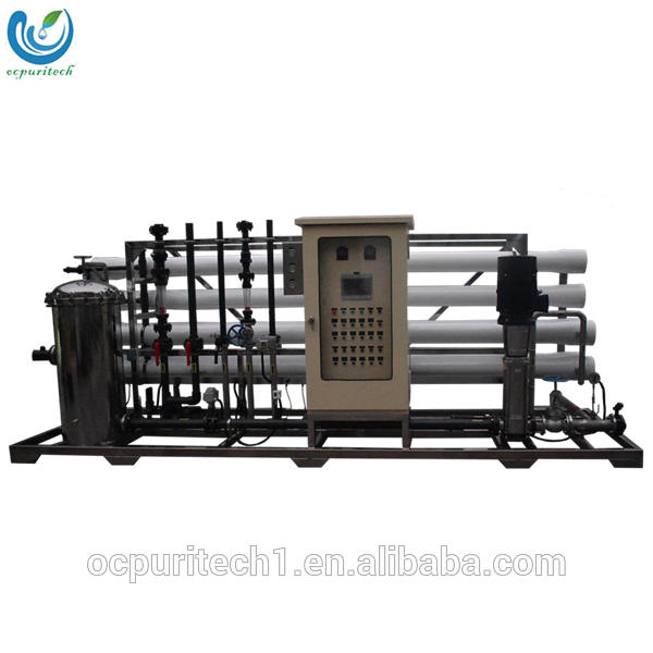 Portable borehole mobile uv led water treatment plant with waste water treatment system
