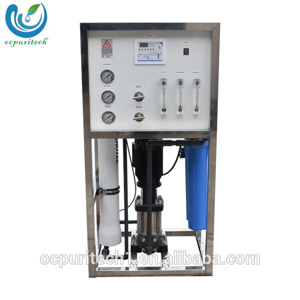 250LPH waste water treatment ro plant system with ro water purifier body