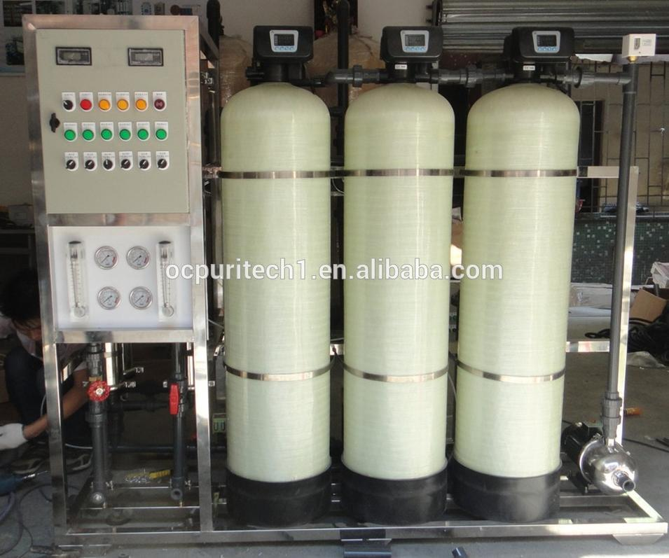 CE Certificate 1000LPH Reverse osmosis membrane water treatment system
