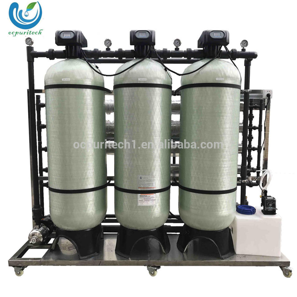 Best selling 2000lph Portable water treatment system reverse osmosis system drinking small scale water purification plant