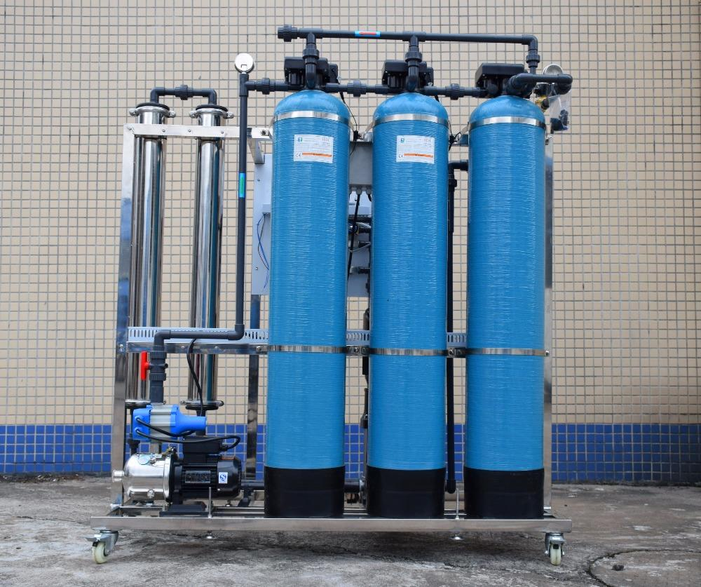 500LPH industrial RO water treatment system for sale