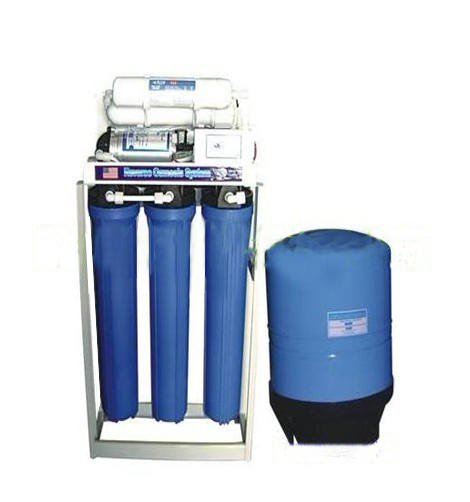 commercial 800GPD RO fully automatic small water plant treatment