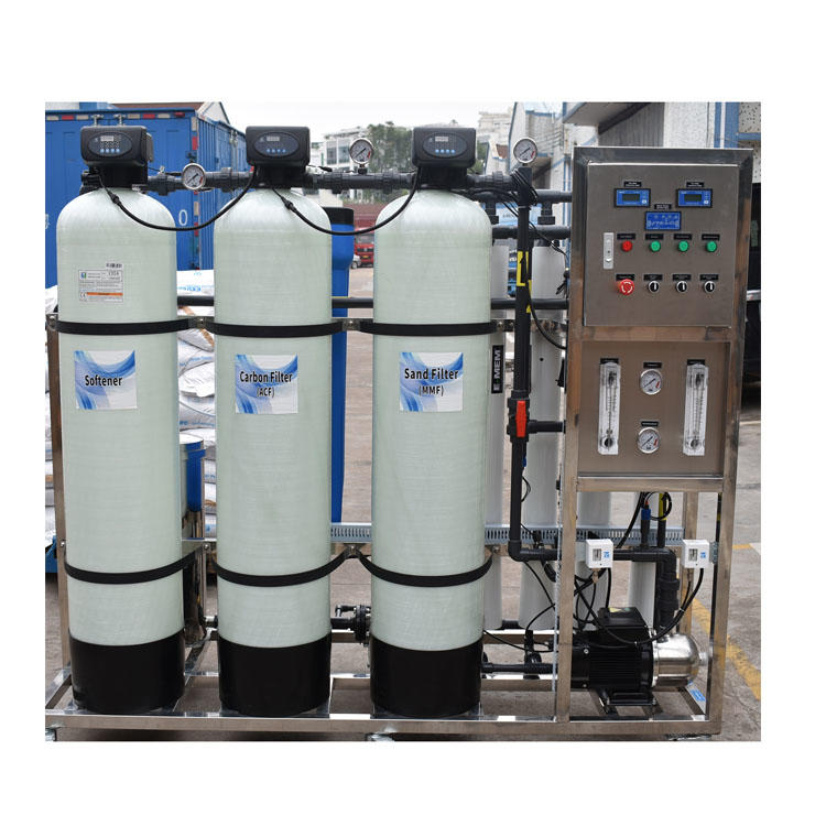 1000LPHwaste water treatment equipment industrial water purification systems