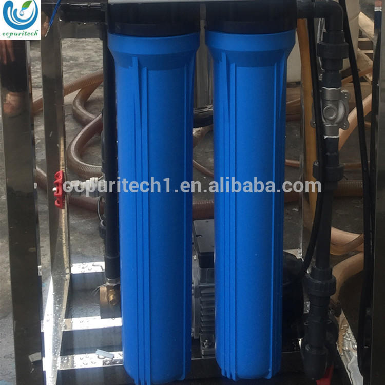 Commercial filter water purification systems ro purified water machine