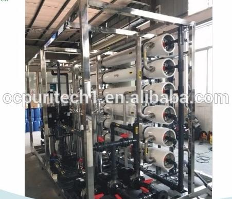 20TPH Large Scale Industrial Reverse Osmosis Water Treatment Equipment