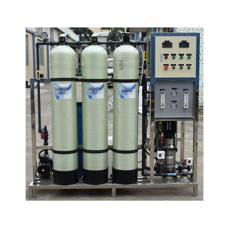 best price and good quality industrial 500 lphreverse osmosis filtering equipment compact ro system