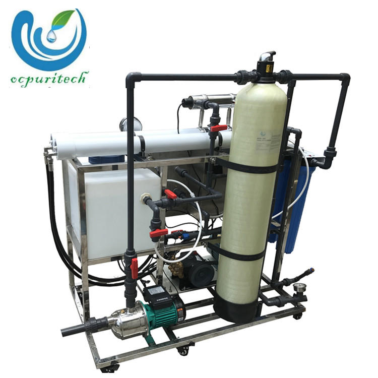 100 lph small manual well water desalination plant with water treatment purification