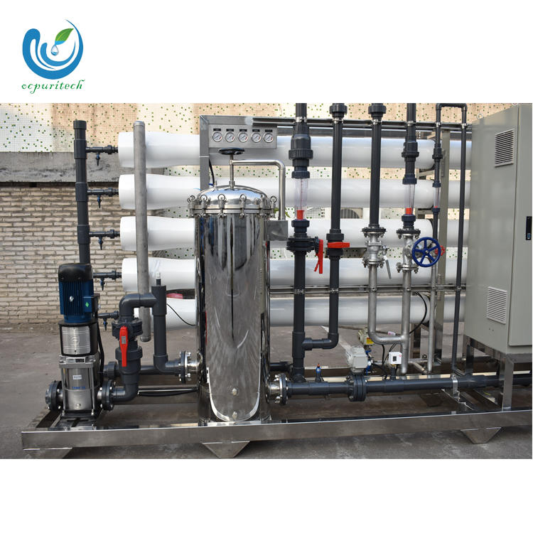 Industrial ro membrane housing water plant price for 10000 liter