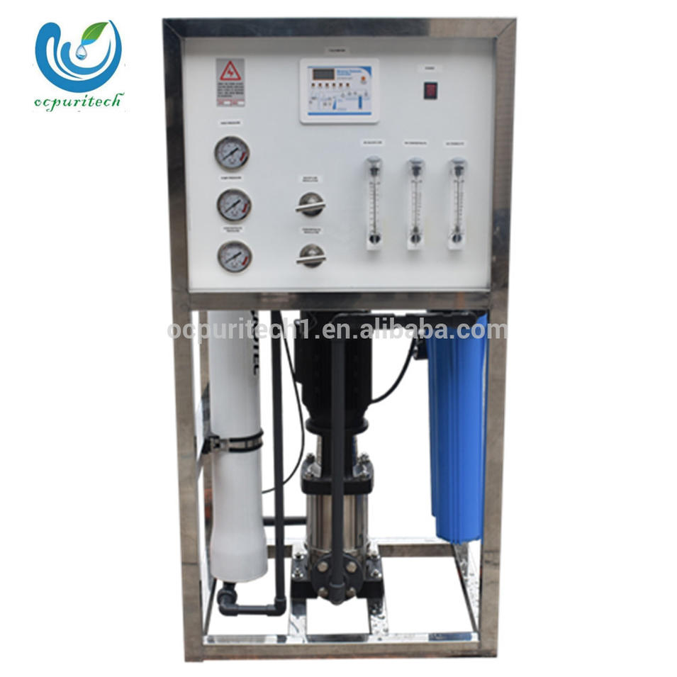 250LPH 1500GPD reverse osmosis water purification system small water treatment plant
