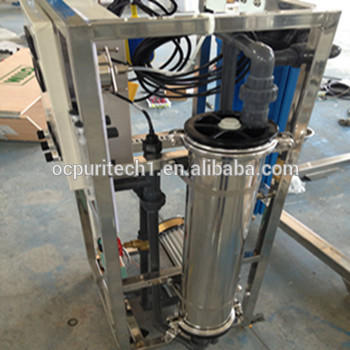 Chinese manufactured 800GPD industrial water purifier RO system treatment with water tank for sale