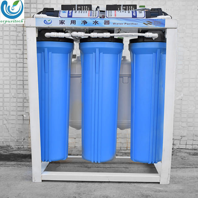 Double pump commercial RO water filter/industry Ro water purifier