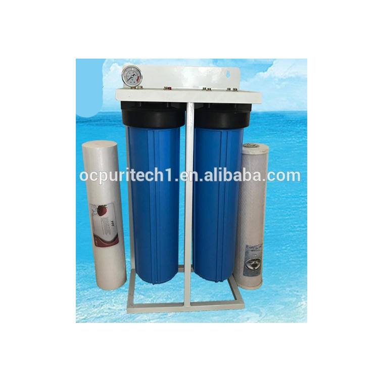 Competitive price fat PP+CTO filter water purifier with iron frame