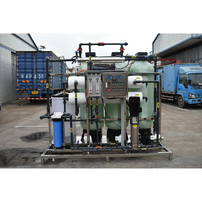2t ro system filtration purification industrial drinking water treatment plant