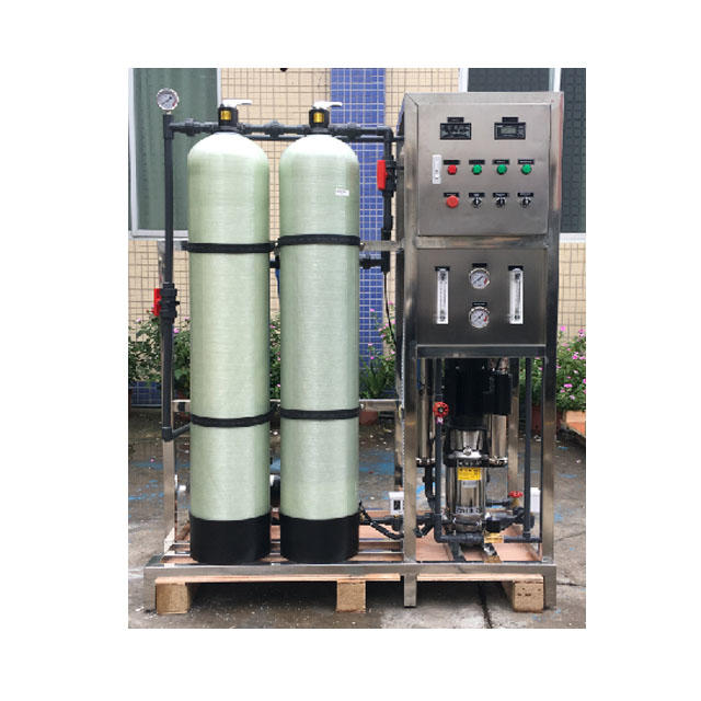 Small scale 0.5TPH RO reserve osmosis machine filter water treatment equipment