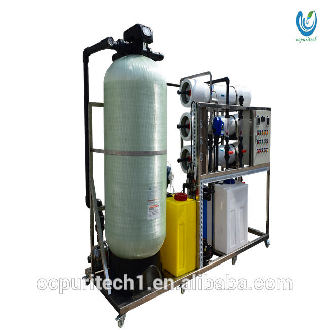 containerized ro water treatment plant price with specification for water purification