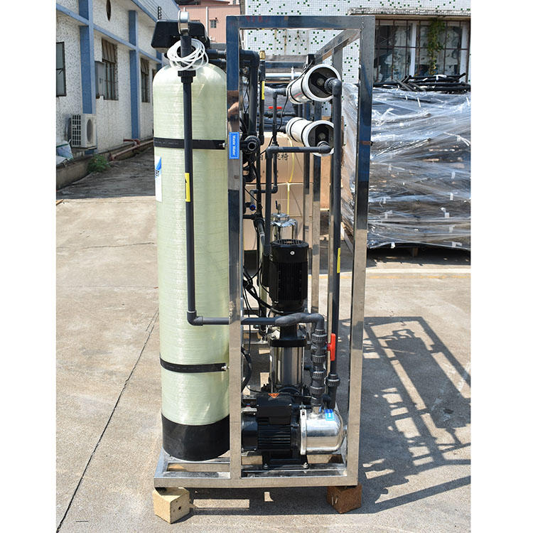 500LPH increase trace element purify ro reverse osmosis water treatment water plant price