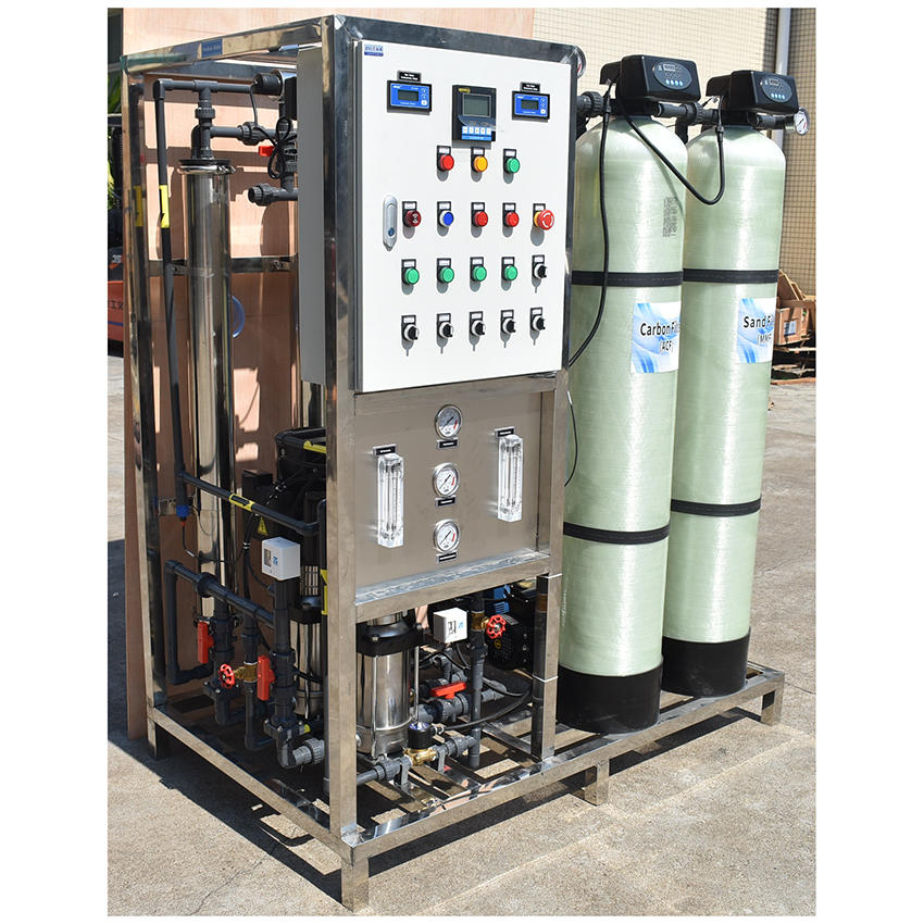 Reverse Osmosis pure water making machine 500l water treatment system