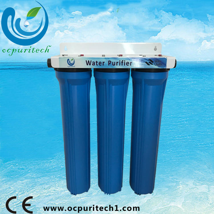 Hot sale comercial PP+UDF+CTO RO system small ro water treatment system