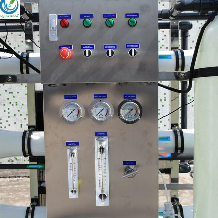 High tech750lph NSF certificated salt water treatment plant for ro drinking water treatment plant