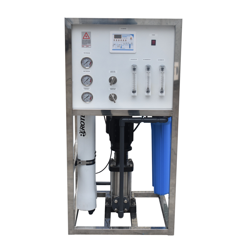 small ro water treatment plant 500 liters per hour with pretreatment
