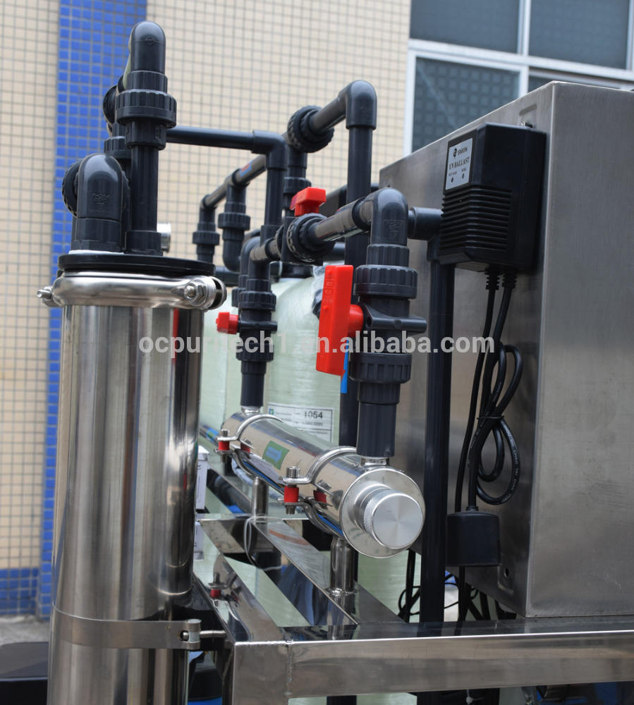 3000GPD mineral drinking water process reverse osmosis(RO) system