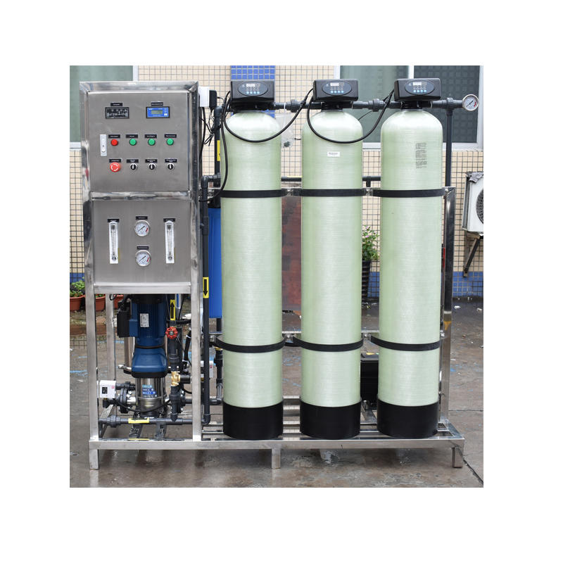 500lph compact magnetic filtration ro system uv disinfection water treatment equipment
