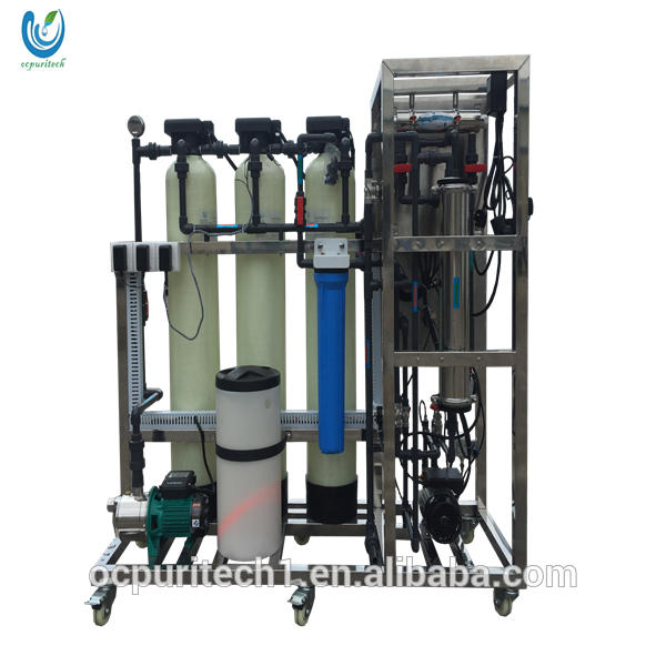 uv water treatment agent with reverse osmosis pump for water ro plant