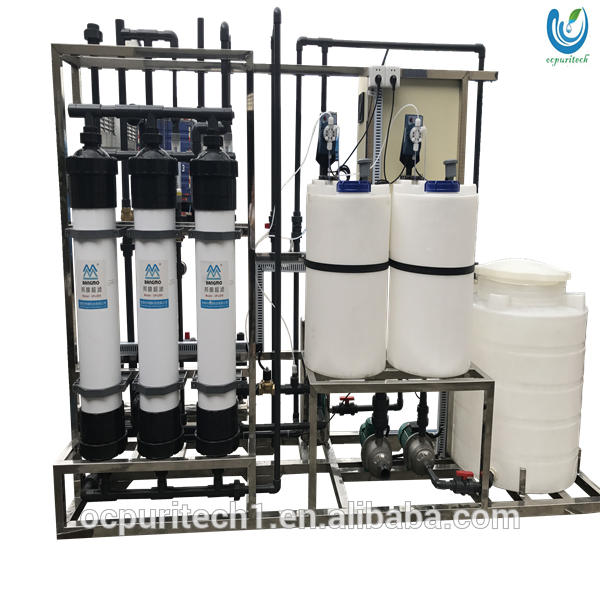 Industrial ultrapure reverse osmosis water purification system filter controller for sale