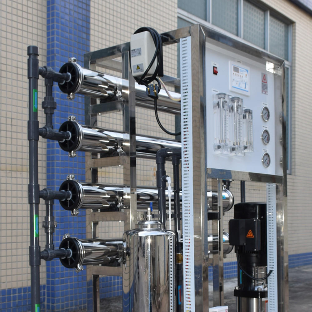 Small industrial manual/ auto ro water system plant 1000l/h water purifier