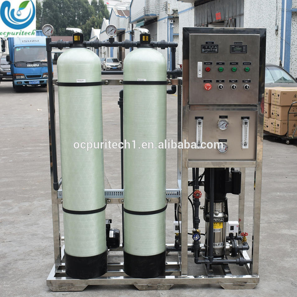 Industrial 800GPD RO water filter system water filter plant