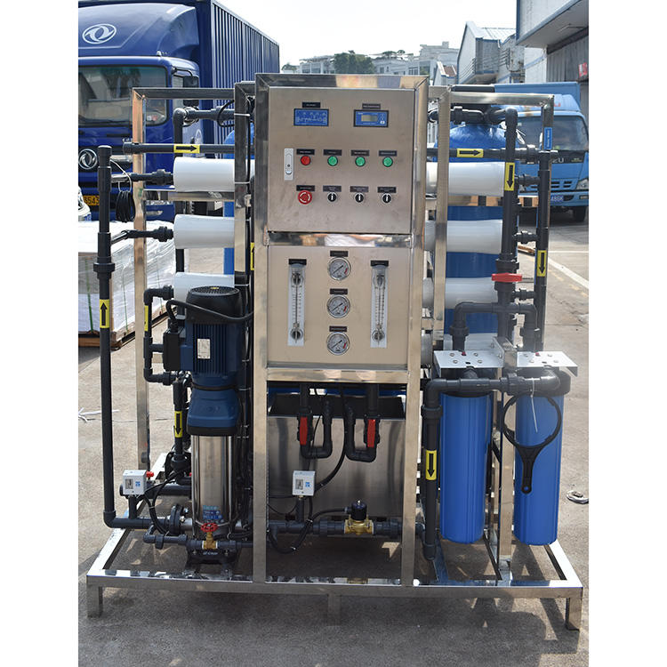 1000 lph mini industrial pure ro drinking water filtration purification treatment plant