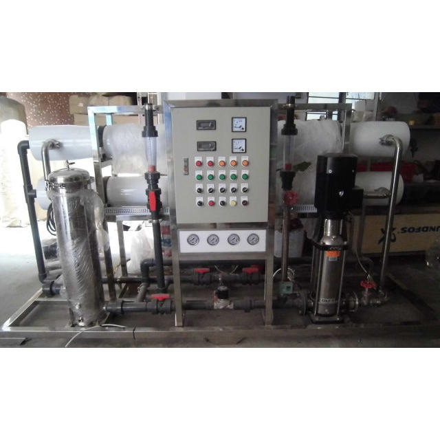 large scale commercial reverse osmosis water purification system