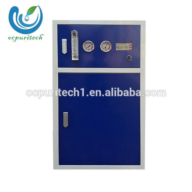 Guangzhou Cabinet type 200GPD-800GPD commercial water purification system plant