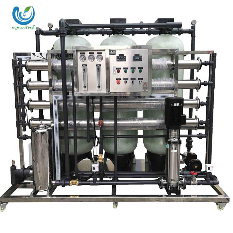 2000L reverse osmosis filter pure water production equipment