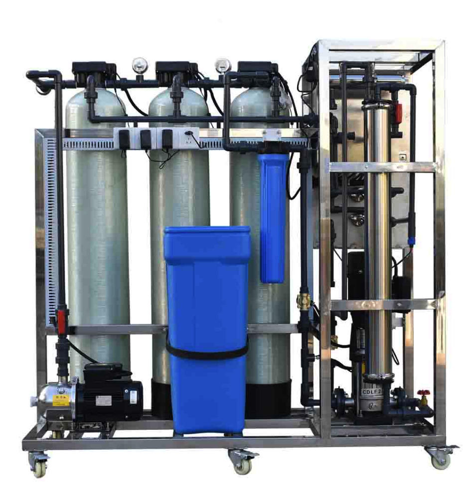 250LPH 1500GPD Small Capacity Industrial Reverse Osmosis Water Purification System