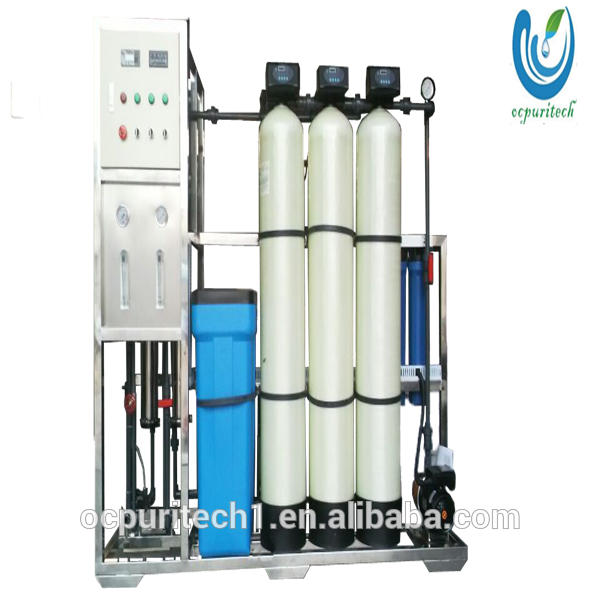 500lph industrial water ro system water treatment plant price