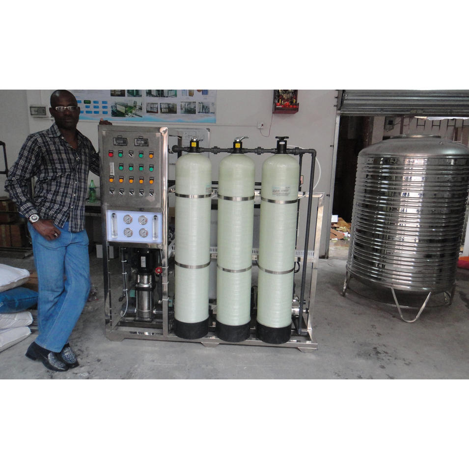 reverse osmosis ro plant industrial water treatment machine