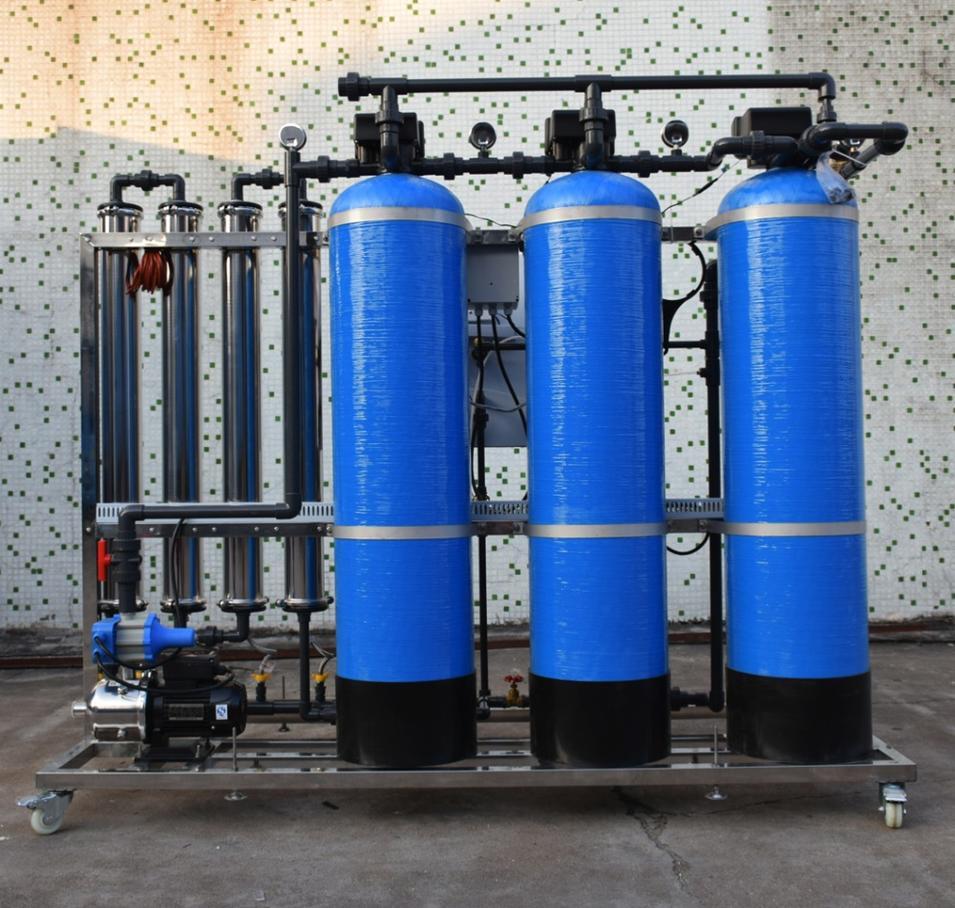 Guangzhou 1M3/hr Reverse Osmosis RO Membrane Drinking Water Filter System