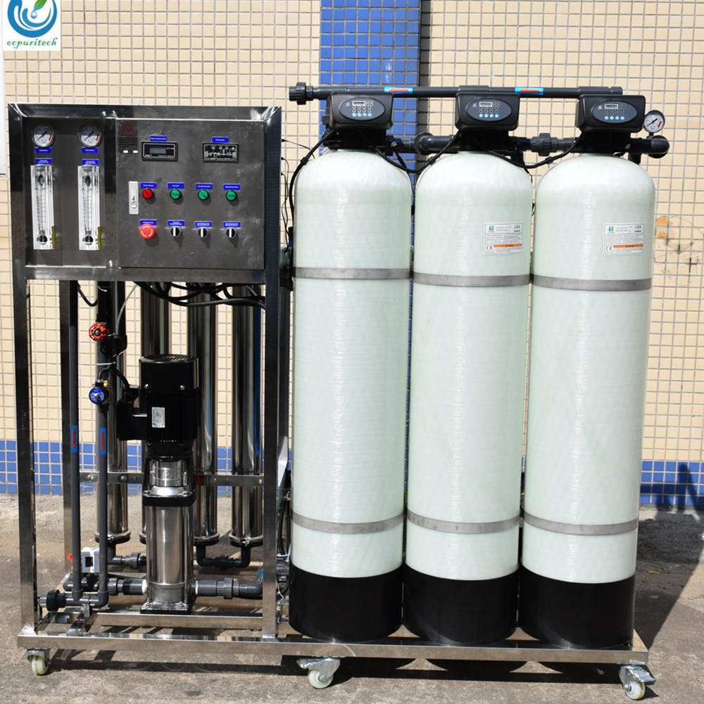 1000lph ro plant price salt water detergent water purification system