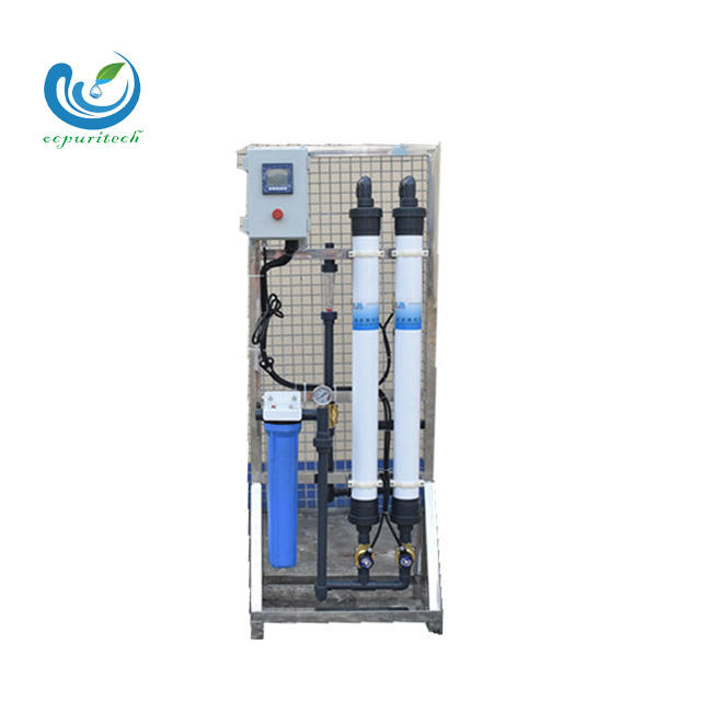 Hot sale Auto Flush UF system ultra filtration membrane for water treatment plant