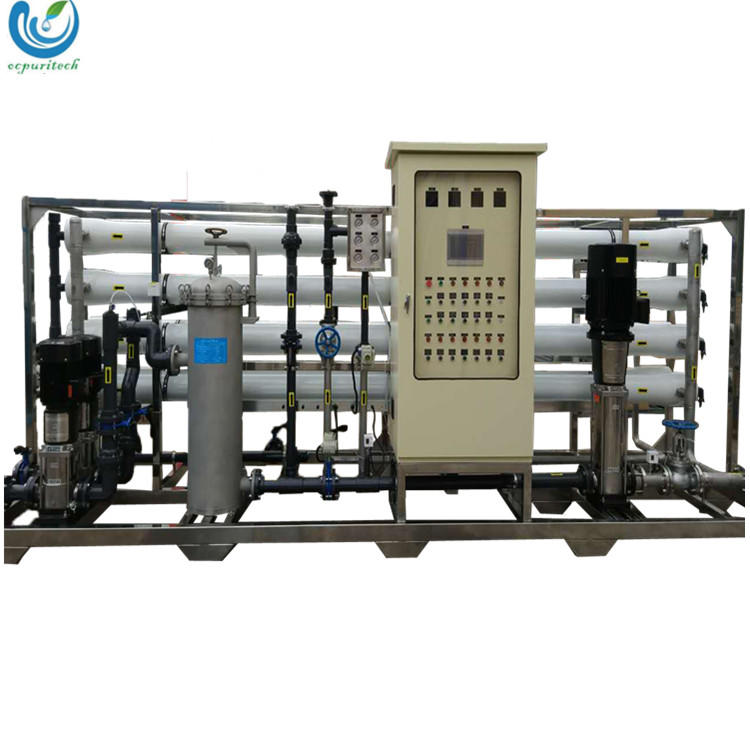 Large Scale Industrial RO Water Purification System for 20TPH