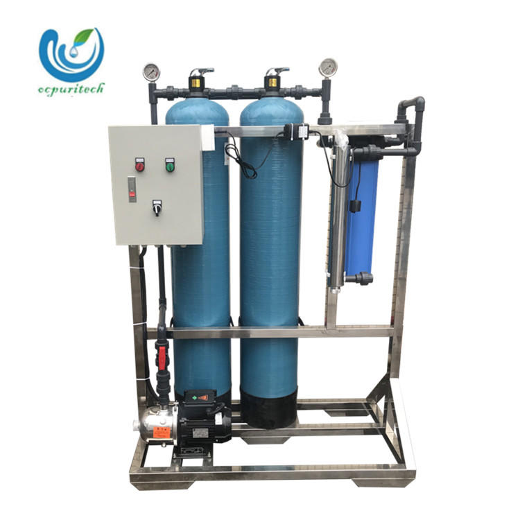 1T Pretreatment waste water treatment equipment industrial water purification systems