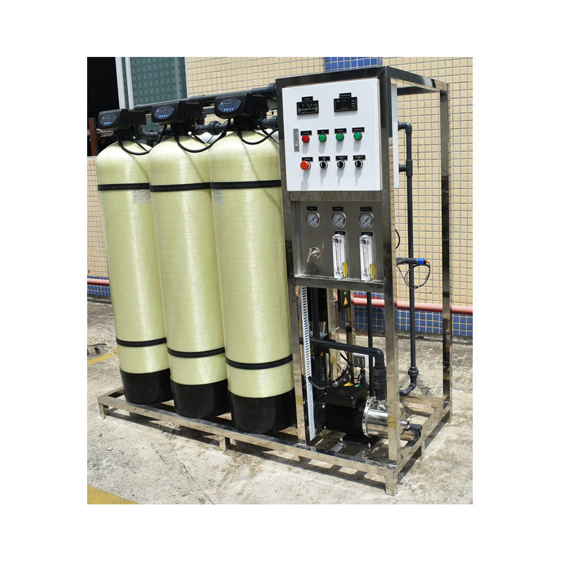 Ro Filter Plant Drinking Water Well Filtration Reverse Osmosis Purification Purifier Industrial Systems Prices Purifying Machine
